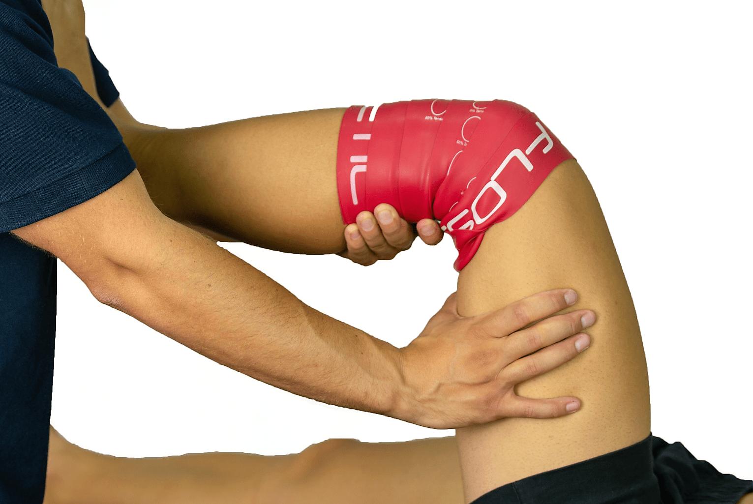 trattamento del dolore tramite flossing band